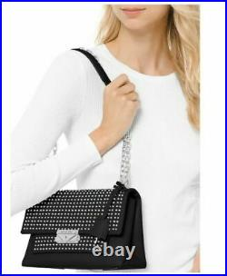 Michael Kors NEW Cece Studded Convertible Chain Shoulder Bag $458
