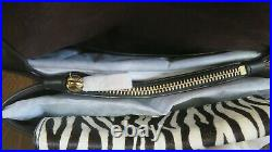 Michael Kors RARE Cece Studded Leather Chain Shoulder Bag Truffle/ Red and Black
