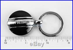 Montblanc Meisterstuck Platinum Pltd & Onyx Key Ring Black 102983 New Germany