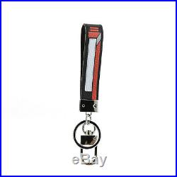 Montblanc Soft Grain Mix Tapes Key Chain Loop Ring 123740 Keyring Home Car