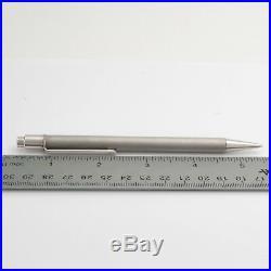Must de Cartier Pen, Pencil, Key Chain Gift Set in Stainless Steel