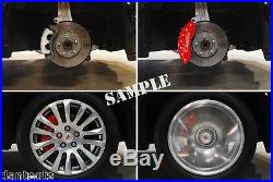 NEW! 2006-2015 Honda Civic Logo Black Brake Caliper Covers Front Rear & Keychain