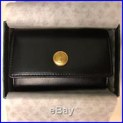 NEW AUTHENTIC Vintage Gucci Key Case Keyring Keyholder BLACK