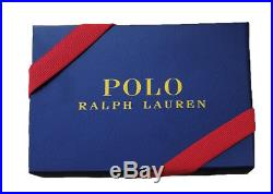NEW Ralph Lauren Polo Tuxedo Martini Bear Wallet Black Leather LIMITED EDITION