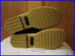NEW Womens LL BEAN Lounger Boots Shearling Lined Duck Buckle FREE KEY CHAIN 7M