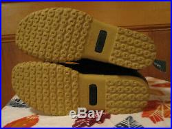 NEW Womens LL BEAN Lounger Boots Shearling Lined Duck Buckle FREE KEY CHAIN 9M