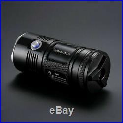 NITECORE TM06S 4x CREE XM-L2 U3 LED 4000 Lumens Compact Flashlight with Keychain