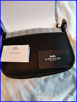 NWT COACH DISNEY Patricia Crossbody Bag, wristlet, key chain