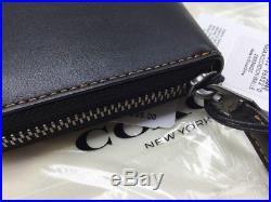 NWT Coach 1941 NASA Accordion Wallet Space Black Zip Rare