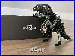 NWT Coach Medium Rexy Bag Charm With Kaffe Fassett Print in Green
