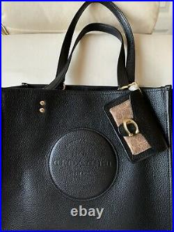 NWT Coach Mini Tabby Bag Charm Key Chain Card Case in Leather + Signature Canvas