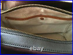 NWT Coach Women's Rogue Leather Shoulder Bag Black F26829 Bonus Coach Key chain