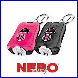 Nebo MyPal Rechargeable 400 Lumen Keychain Flashlight & 115db Personal Alarm