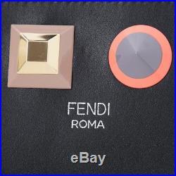 New Authentic FENDI Key Case Black 8ap151-sr0-f0jbx Women's Gift
