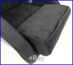 New Black Nrg Prisma Ultra Medium Seat + Side Mounts + Key Chain Frp-303bk-ultra