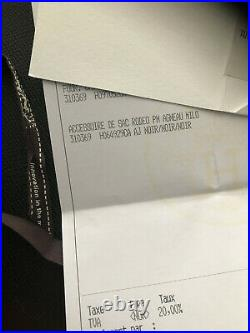 New Hermes So Noir Black Rodeo Pm Horse Keychain Bag Charm Carmen Birkin Kelly