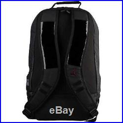 New Jordan 11 Retro Backpack Black Gym Red (key chain not included)