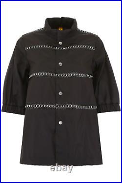 New Moncler Genius Silver Noir Kei Ninomiya Chain Jacket 0 XS S M AUTHENTIC NWT
