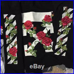 New stylish SUBX Flower embroidered off white Virgil abloh sweater hoody Jumper