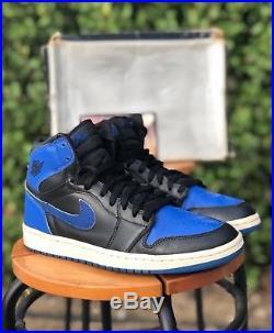 Nike Air Jordan 1 One Retro Royal Blue 2001 OG with box, retro, keychain Men's 9.5