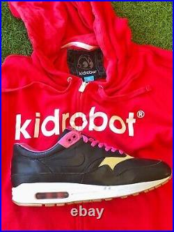 Nike Air Max 1 Kidrobot 10.5 DS 2005 + Insole, keychain and Kid Robot hoodie