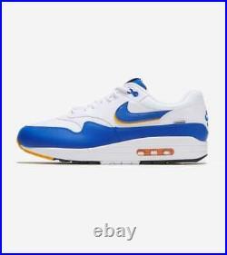 Nike Air Max 1 SE Windbreaker White Royal Blue Men's Shoes Sz 11 AO1021 102