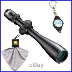 Nikon Buckmasters II 4-12x40 BDC Rifle Scope (16339) with Cloth + Keychain Light