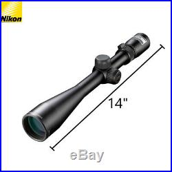 Nikon Buckmasters II 4-12x40 BDC Rifle Scope with Lens Pen, Cloth, Keychain Light
