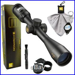 Nikon MONARCH 3 4-16x42 Matte Side Focus BDC 6770 + Lens Pen + Cloth + Keychain