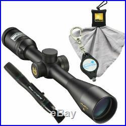 Nikon Monarch 3 BDC Riflescope 3-12x42 6768 with Lens Pen, Cloth, Keychain Light
