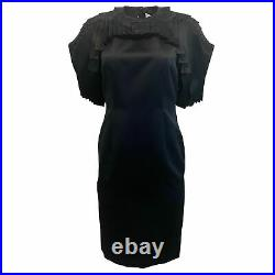 Noir kei ninomiya By Comme Des Garcons Black Chain Link Pleated Dress