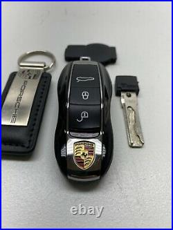 OEM PORSCHE REMOTE ENTRY SMART KEY FOB 5WK50138 With Keychain