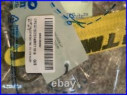 Off White Industrial Key Chain Yellow Black 100% Authentic