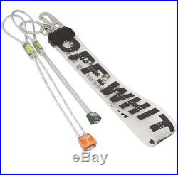 Off White Virgil Abloh Diagonals Fashion Rubber Industrial Black Keychain