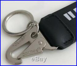 Off-White c/o Quote Key Chain CLASP Virgil Abloh (Black)