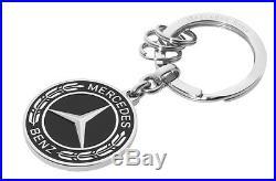 Orig Mercedes Benz key pendant keychain Untertürkheim black