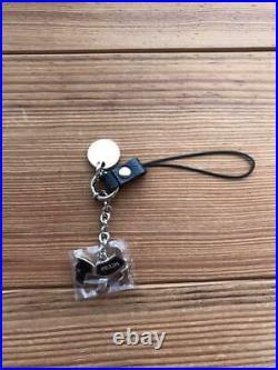 PRADA Dog Terrier Design Strap Bag Charm Keychain Key Ring New Unused