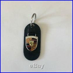 Pre-1973 Porsche CUD 911 356 Key Ring Fob Chain Vintage Rare Original