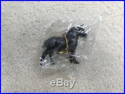Rare Breyer BreyerFest Horse Stablemate #410897 Black Draft Keychain Drafter G1