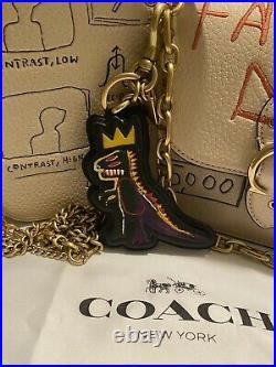 SOLD OUT Coach X Jean-Michel Basquiat Pez Dispenser Rexy Bag Charm Key Chain New