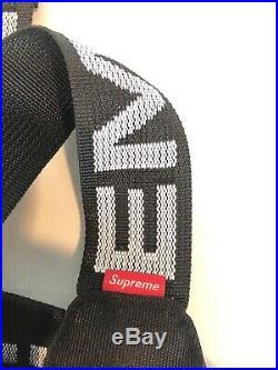 SUPREME SS18 Waist Bag Cordura Fanny Pack BLACK NWT + Bogo Bag & Keychain