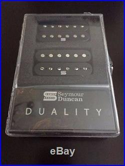 Seymour Duncan Duality Neck Bridge Set Black 11106-75-b FREE Key Chain