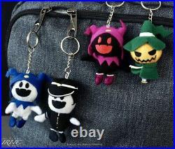 Shin Megami Tensei Raiho Pyro Black Jack Frost Hee-Ho Keychain Plush Figure Set