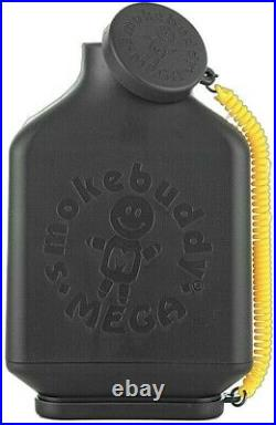 Smoke Buddy MEGA PERSONAL AIR FILTER Black with FREE Keychain