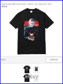 Supreme/Hellraiser Hell On Earth Set L T-shirt, L Hoodie, Beenie, & Keychain