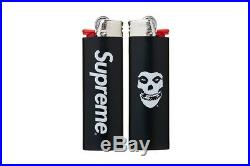 Supreme Misfits Bic Lighter S/S 2013 Black Rare zippo keychain sticker