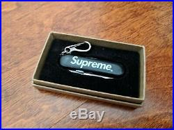 Supreme Victorinox Swiss Army Manager Knife Black FW2014 100% Authentic Box Logo