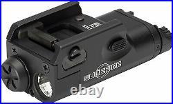 SureFire Weaponlight XC1-B Handgun Light with 12 Extra AAA Batteries + Keychain