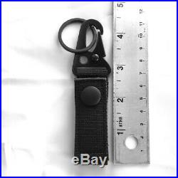 Tactical Belt Keepers Dual Snap Closure Law Enforcement Police Duty Key Chain U