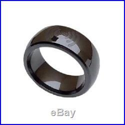 Tesla model 3 key ring(Custom ceramic ring made by model 3 key card)
